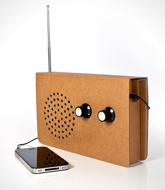 Cardboard-Radio-Suck-UK