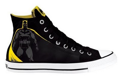 DC Comics x Converse All Star Hi Batman Sneakers