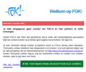 Melding Fok.nl