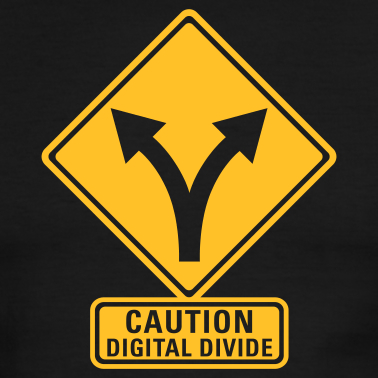 Wegwijzer: caution digital divide