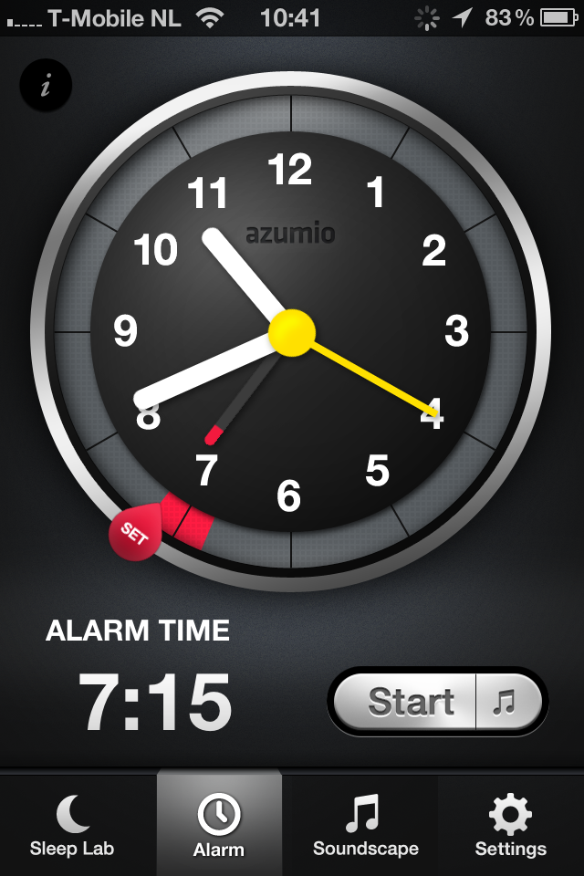 Sleep Time app