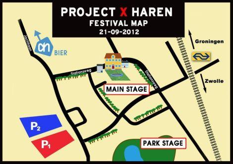 festivalmap haren project x, facebook
