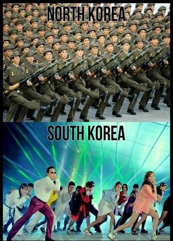 north-korea-vs-south-korea