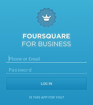 FoursquareLogin