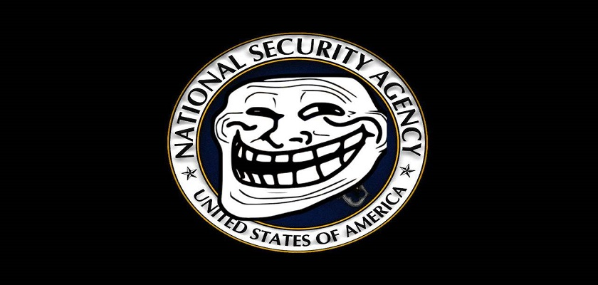 FI troll-the-nsa