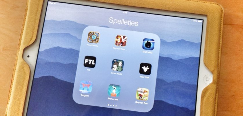 De drie leukste games voor de iPad