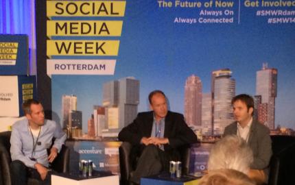 Social Media Week Rotterdam - Debat