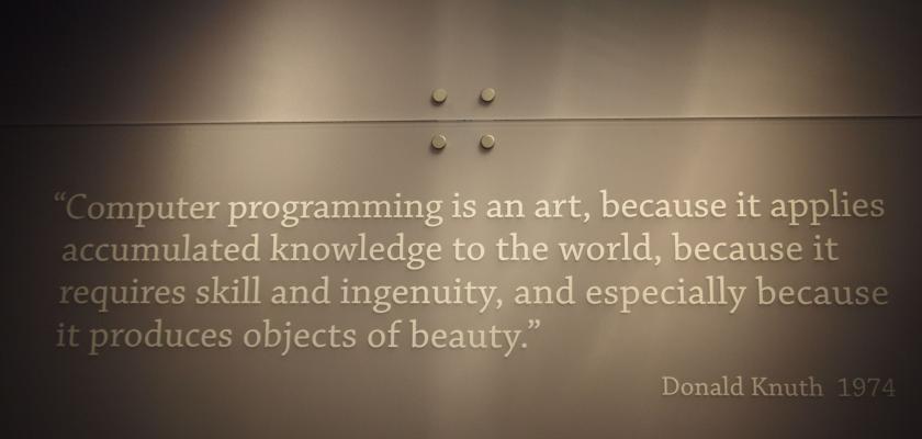 computerprogramming is an art_featured