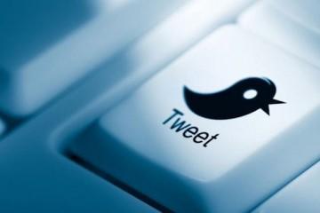 Twitter toetsenbord