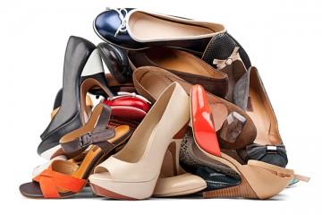 verzameling schoenen