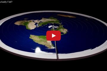 [Video  Hoe zou de aarde uitzien als het plat was  » Door  Missmaong - @42bis