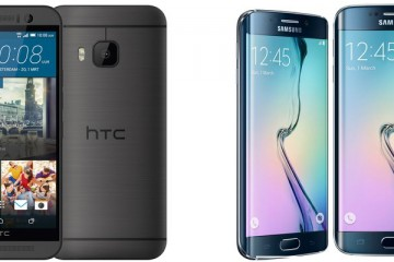 HTC one m9 vs Samsung S6 edge